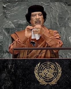 Muammar Gadhafi