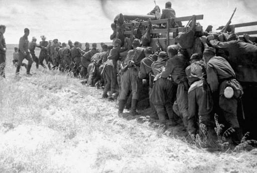 Наступление советских войск в Маньчжурии