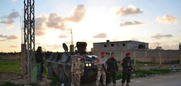 Hlídka v Benghází