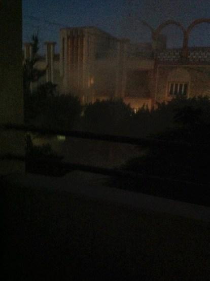 bombový útok na dům jibrila tripolis