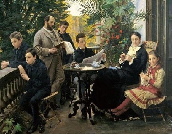 Peder Severin Kroyer, Dánsko, olej na plátně, 1881