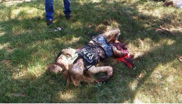 27.7.2014 byla Gorlovka plošně bombardována ukrajinským vojskem.