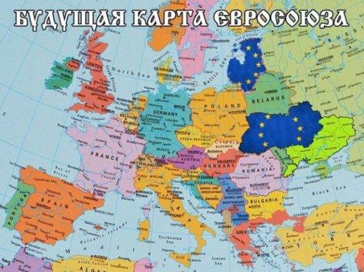 Budouci mapa EU