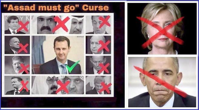 A někde v dálce se usmívá Assad...