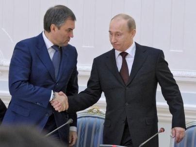 Volodin, Putin, prezident